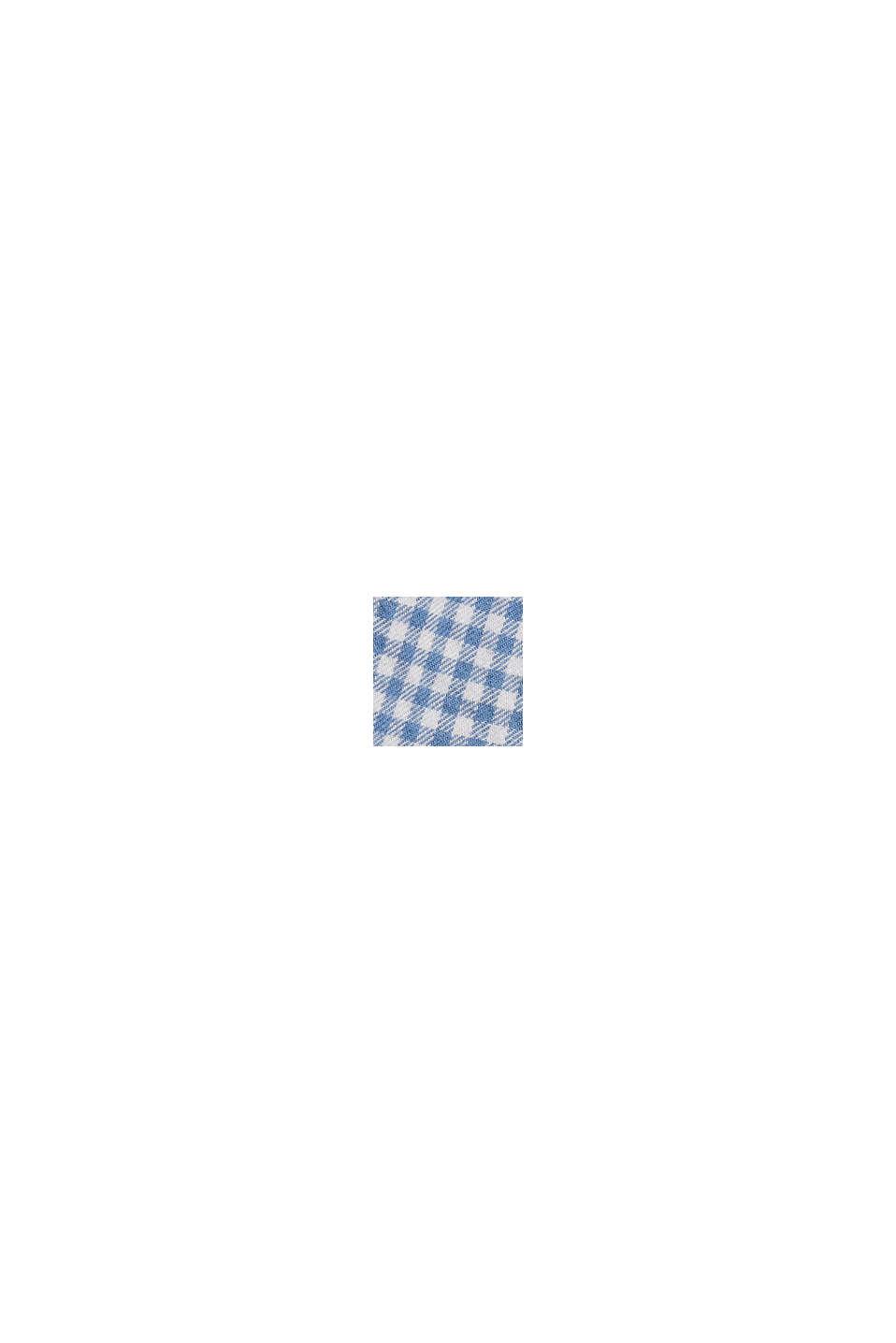 Rutmönstrad flanellskjorta, ekologisk bomull, NAVY, swatch