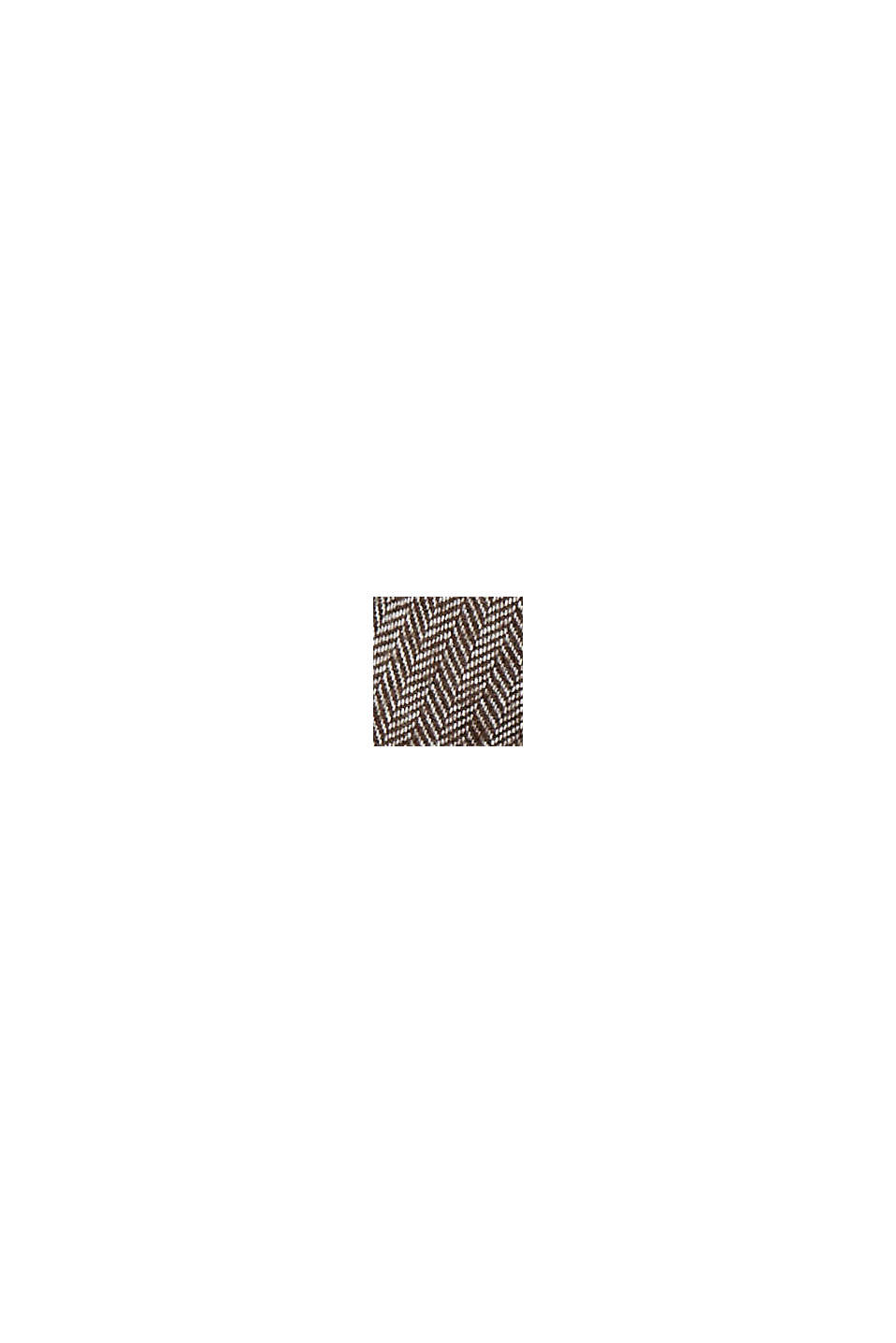 Shirts woven Slim Fit, BROWN, swatch