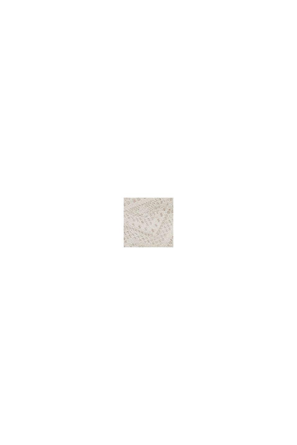 In materiale riciclato: culotte corte in pizzo, ICE, swatch