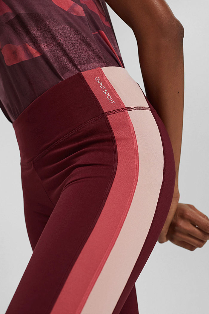 Pants knitted, BORDEAUX RED, detail image number 2