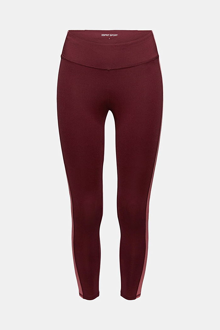 Pants knitted, BORDEAUX RED, detail image number 7