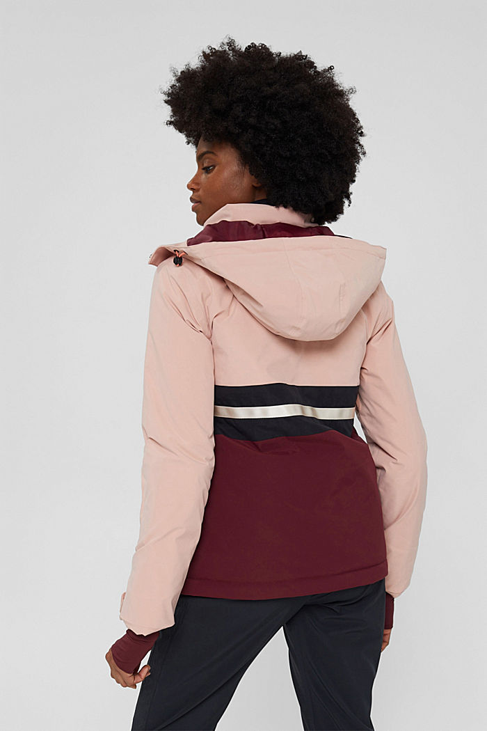 Jackets outdoor woven, BORDEAUX RED, detail image number 3
