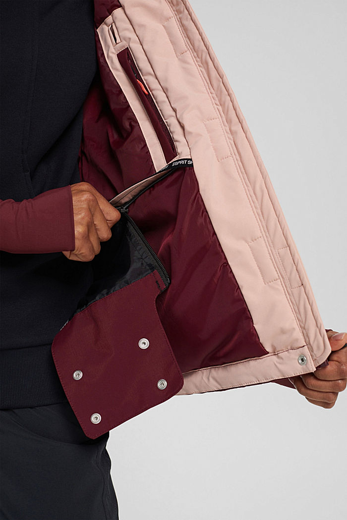 Jackets outdoor woven, BORDEAUX RED, detail image number 5