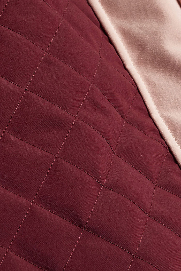 Jackets outdoor woven, BORDEAUX RED, detail image number 4