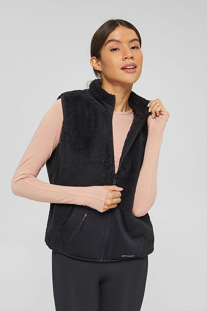 Vests indoor knitted