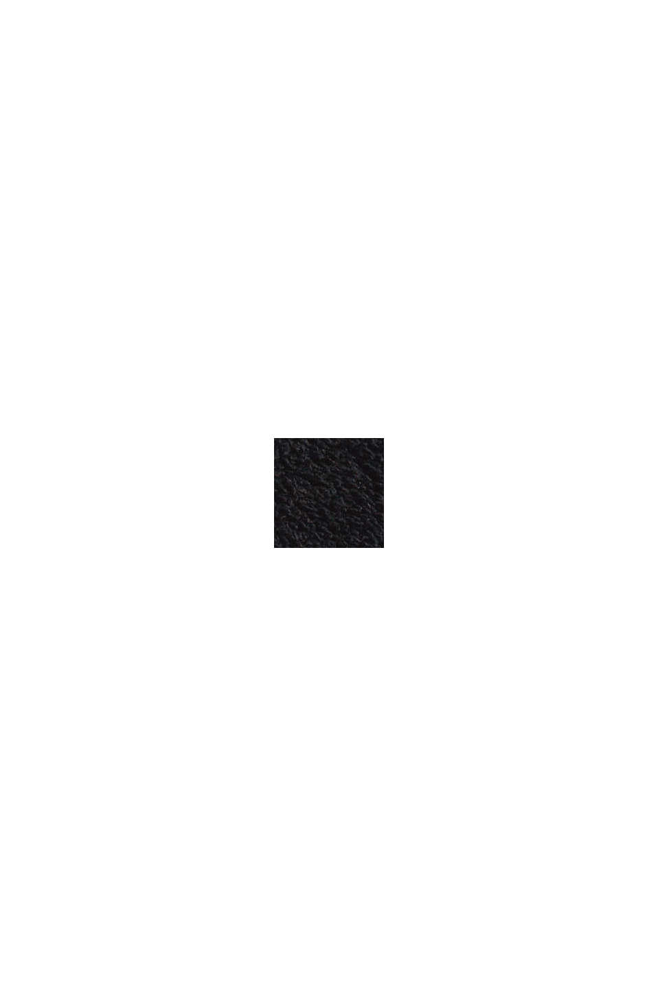 Sweatshirts cardigan, BLACK, swatch