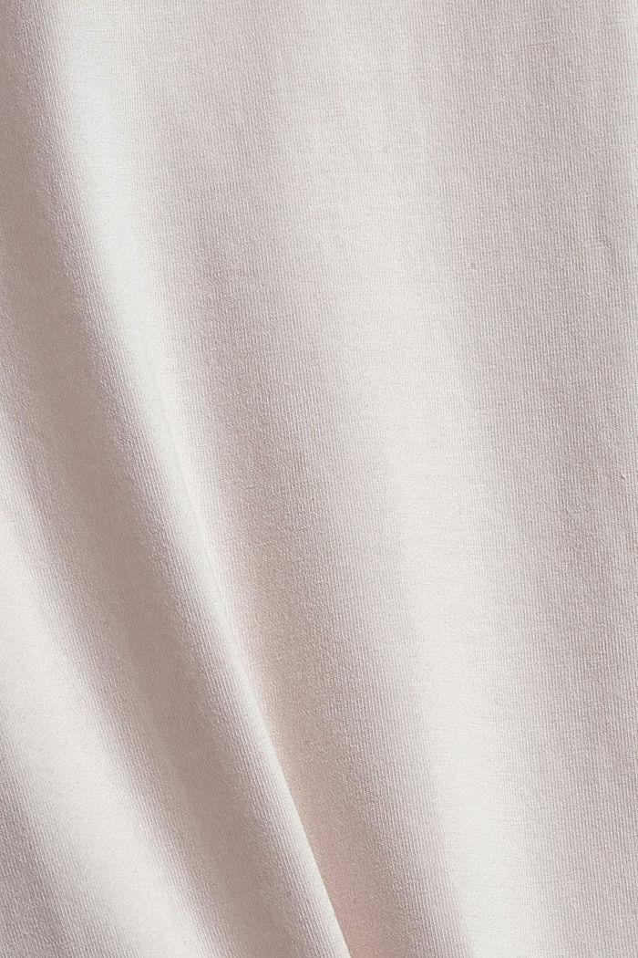 T-shirt en coton biologique, PASTEL PINK, detail image number 4