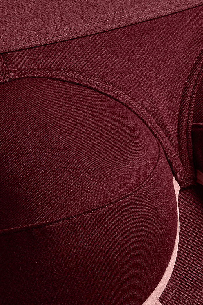 Bras wireless, BORDEAUX RED, detail image number 4