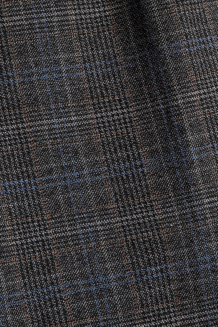 Gerecycled: WINTERCHECK mix + match broek, ANTHRACITE, detail image number 4