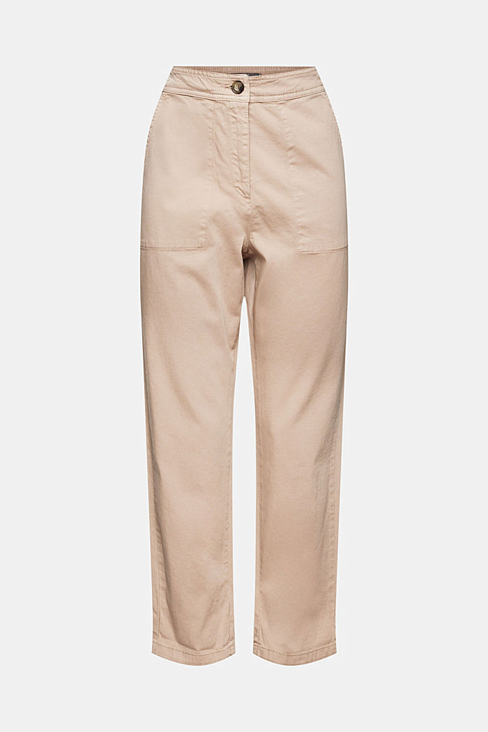 Pants woven