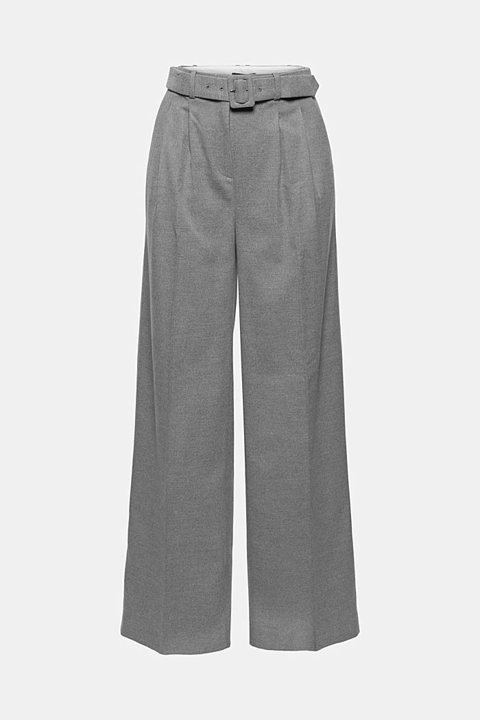 Recyclé: le pantalon large à ceinture