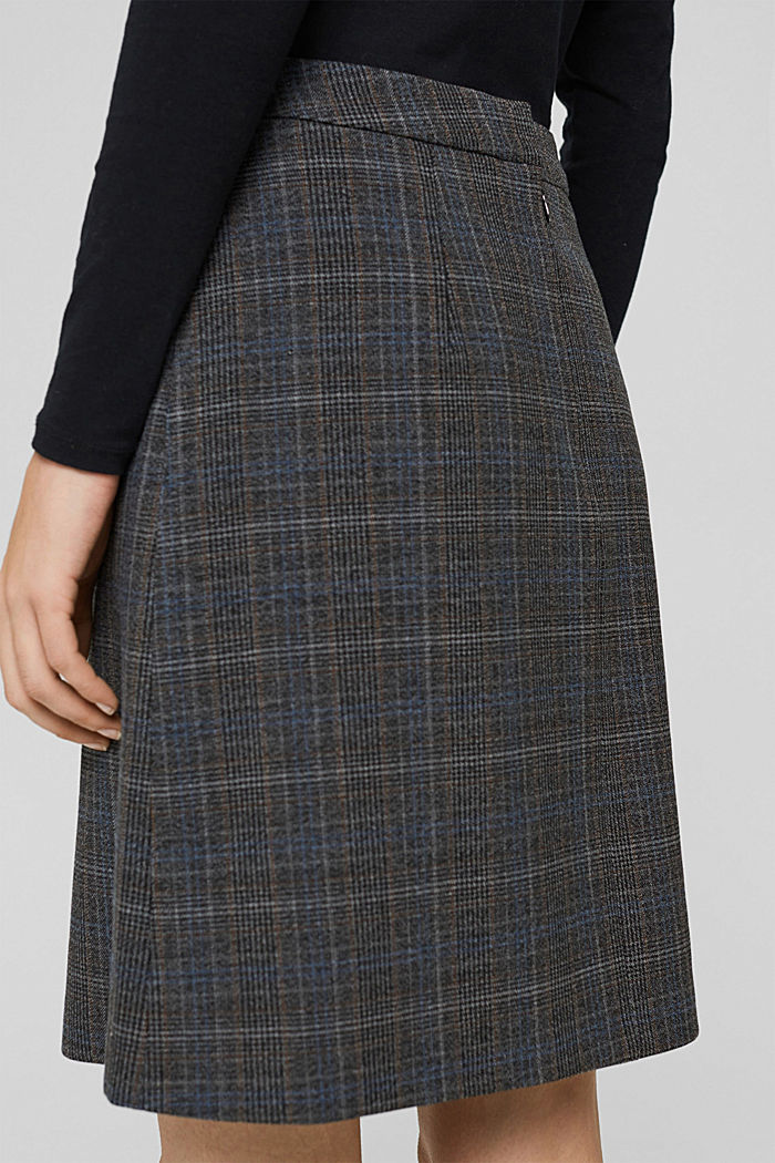 Skirts woven, ANTHRACITE, detail image number 2