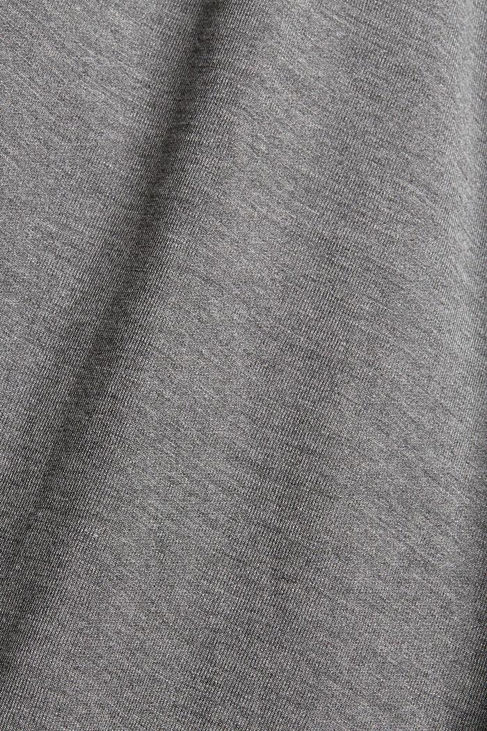 Jerseypaitapuseromekko ja vyö, MEDIUM GREY, detail image number 4