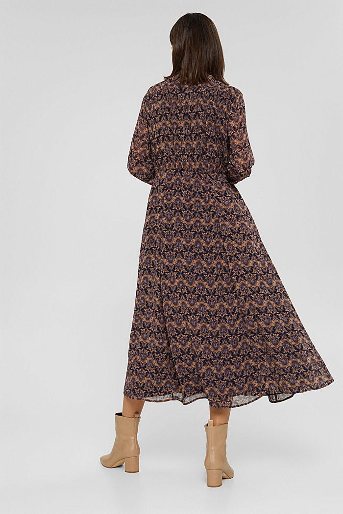Dresses light woven, KHAKI BEIGE, detail image number 2
