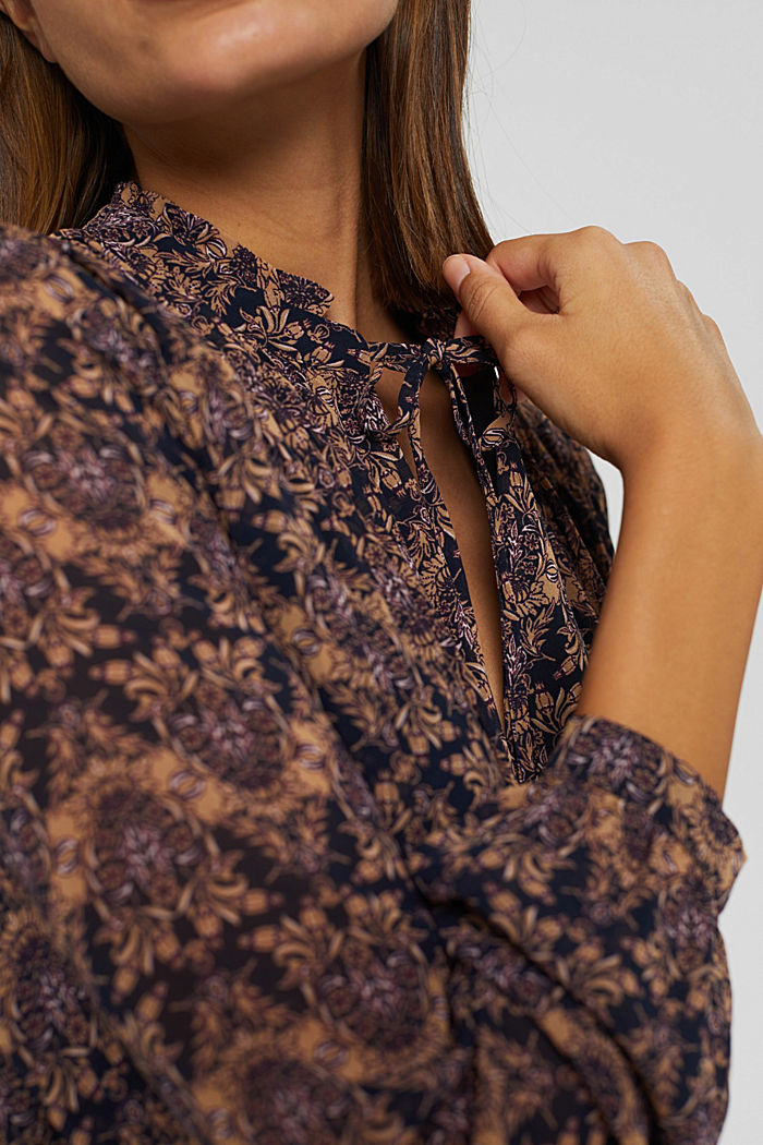 Dresses light woven, KHAKI BEIGE, detail image number 3