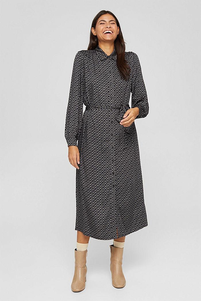 Hemdblusenkleid aus LENZING™ ECOVERO™