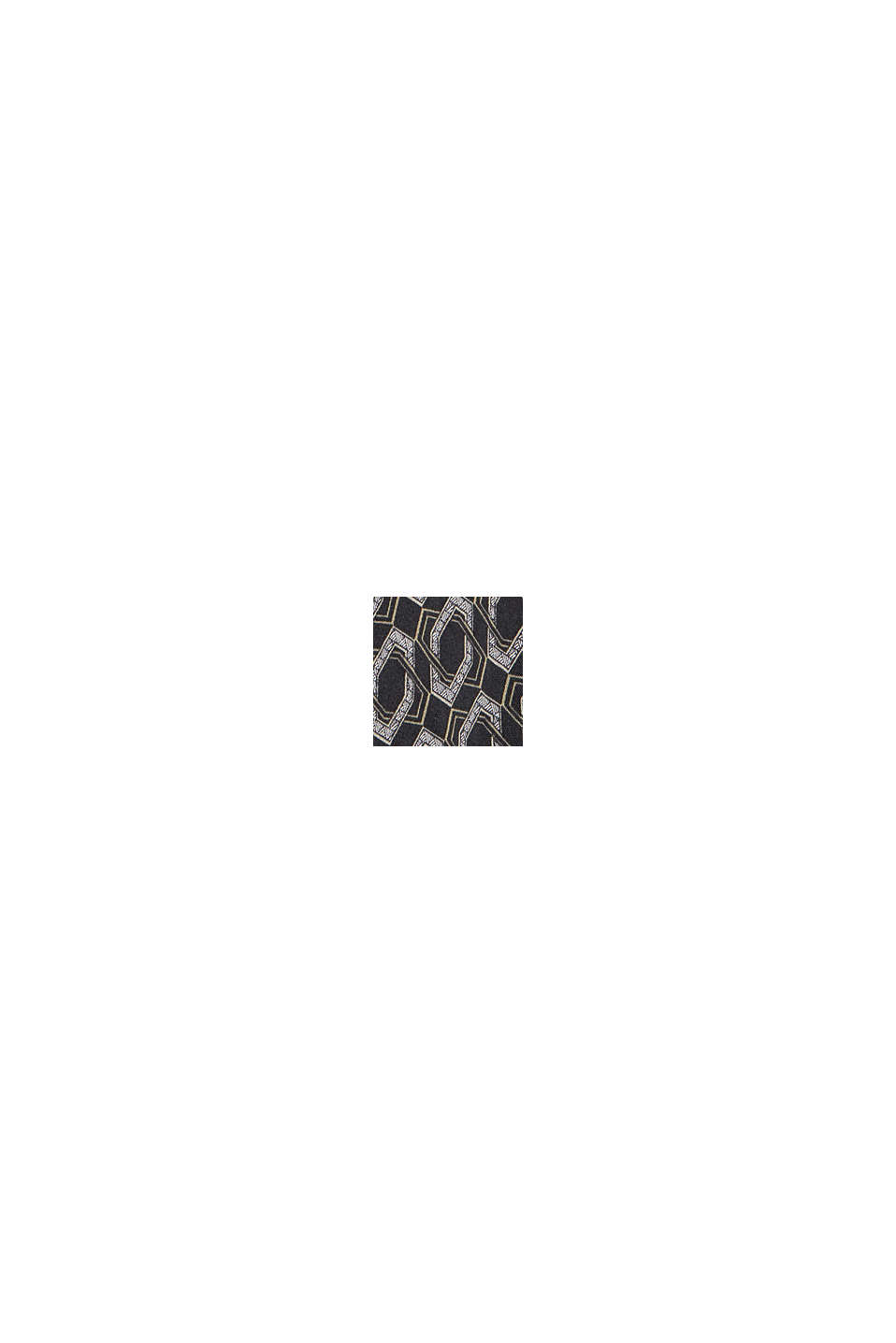 Hemdblusenkleid aus LENZING™ ECOVERO™, BLACK, swatch