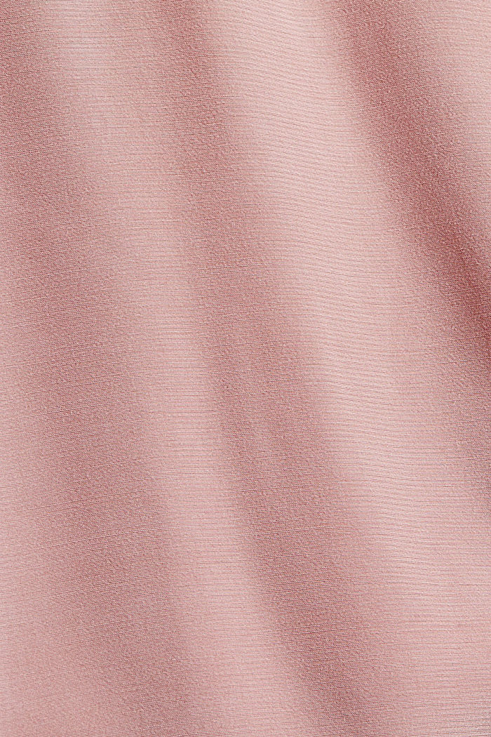 Chemisier à ruchés, CIRCULOSE®, OLD PINK, detail image number 4