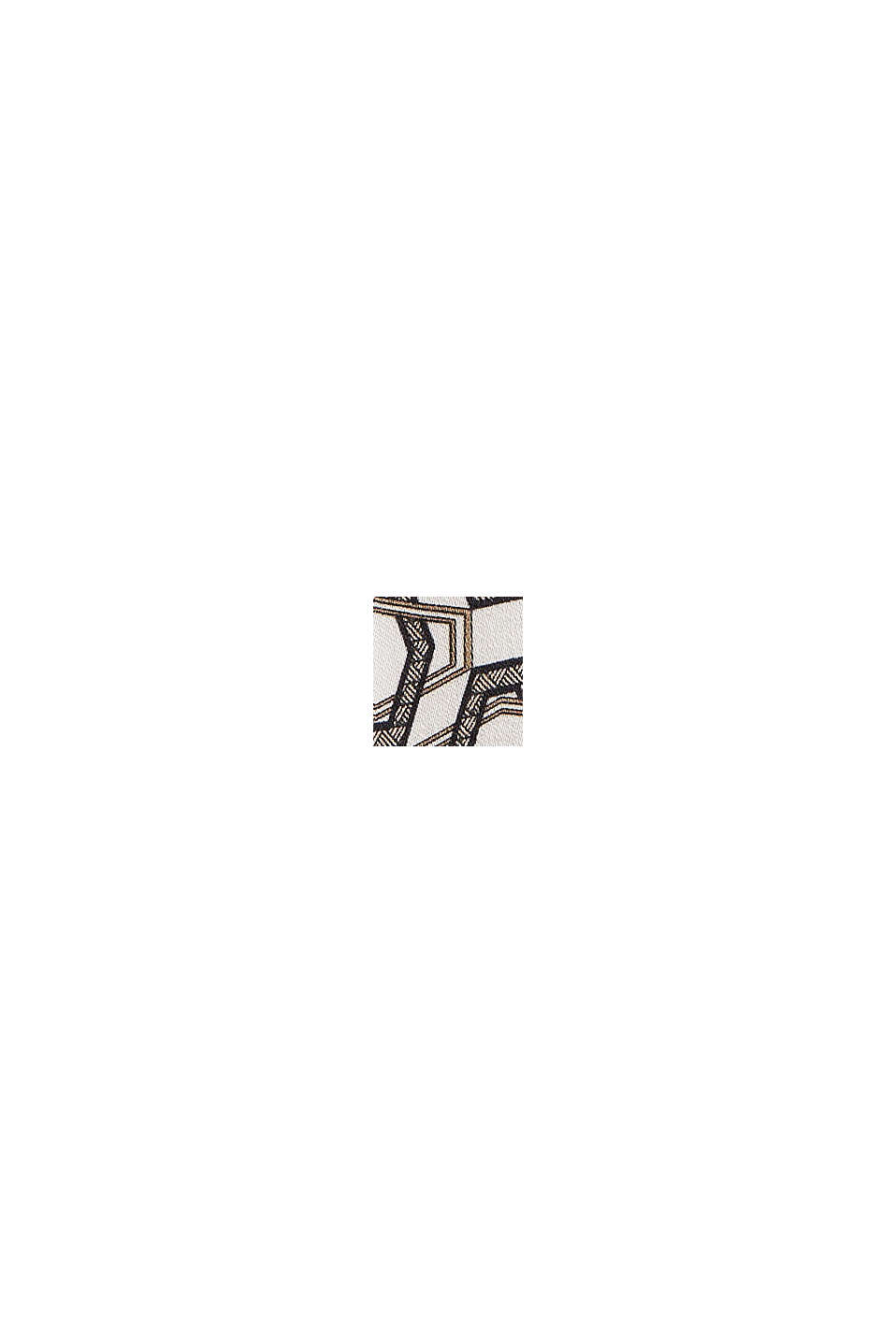 Bluse mit Minimal-Print, LENZING™ ECOVERO™, OFF WHITE, swatch