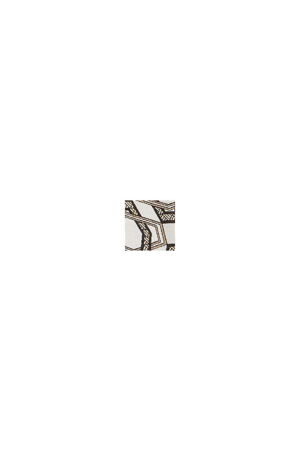 Satin-Bluse mit Print, LENZING™ ECOVERO™, OFF WHITE, swatch