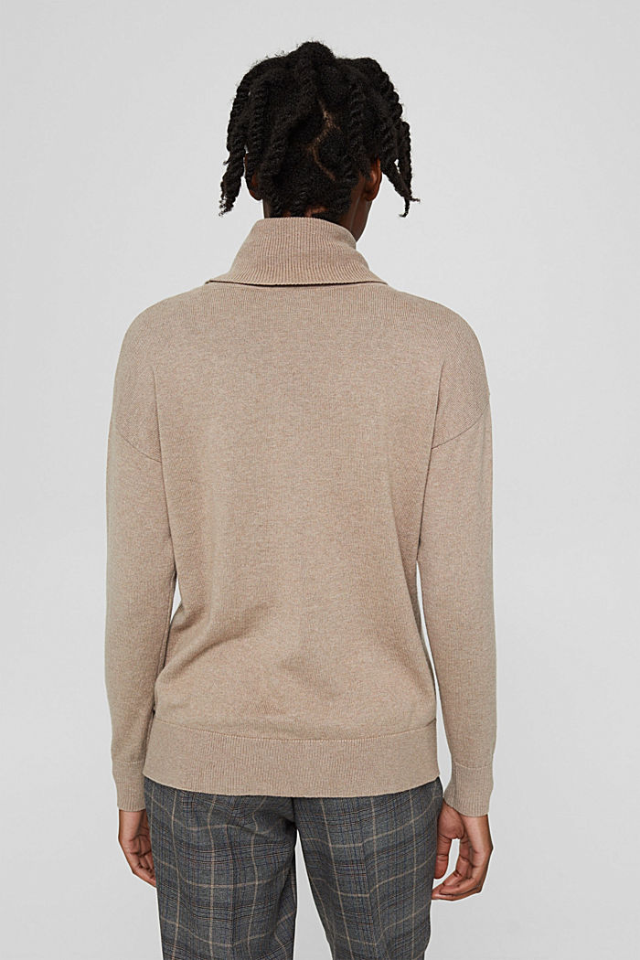 Sweaters, LIGHT TAUPE, detail image number 3