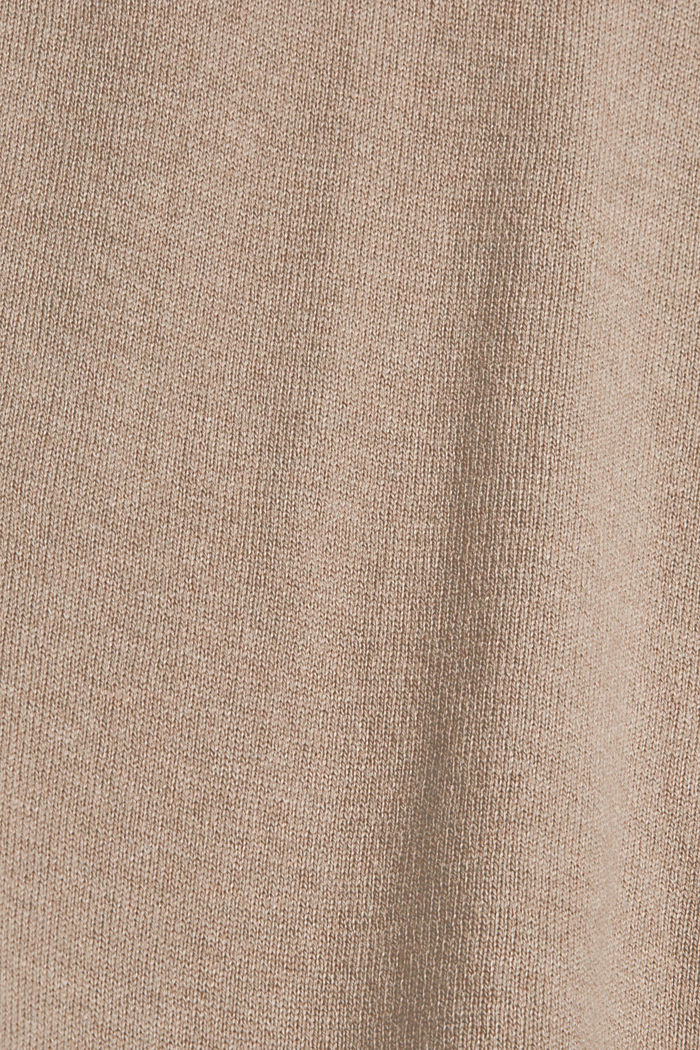 Sweaters, LIGHT TAUPE, detail image number 4
