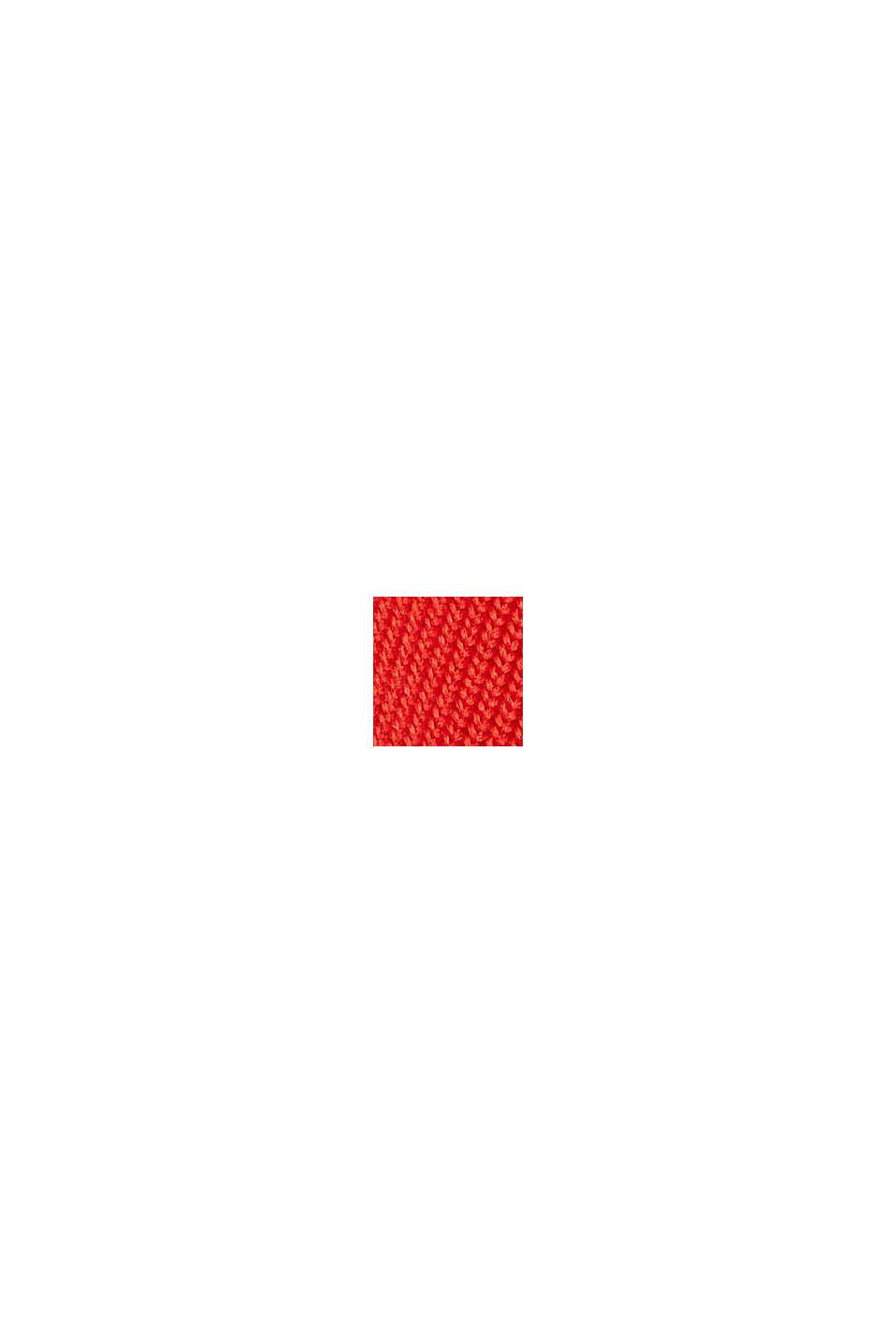 Sweaters, ORANGE RED, swatch