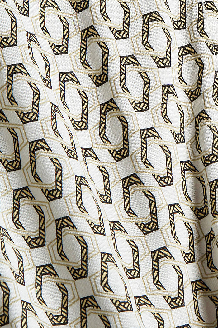 Camiseta de manga larga estilo blusa, LENZING™ ECOVERO™, OFF WHITE, detail image number 4