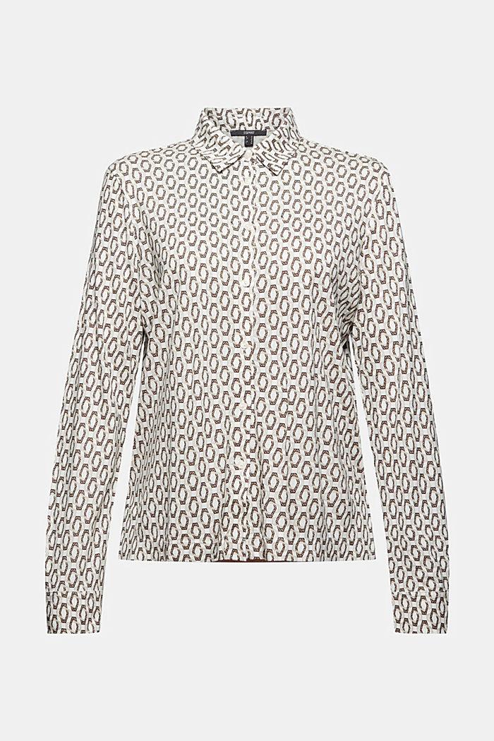 Camiseta de manga larga estilo blusa, LENZING™ ECOVERO™