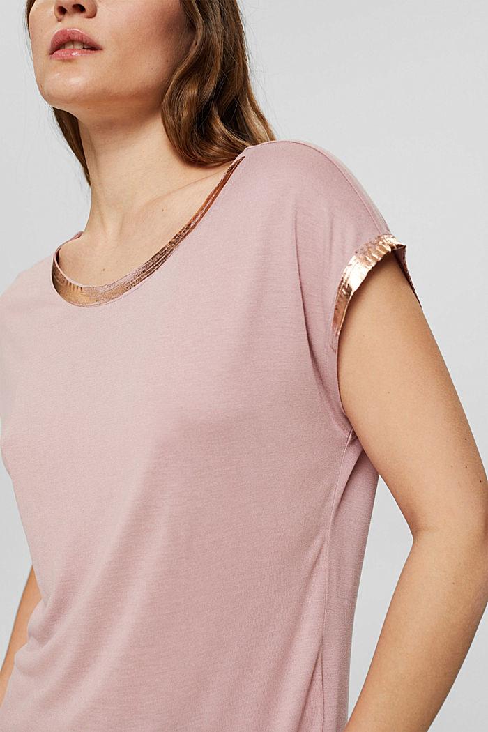 Fashion T-Shirt, OLD PINK, detail image number 2