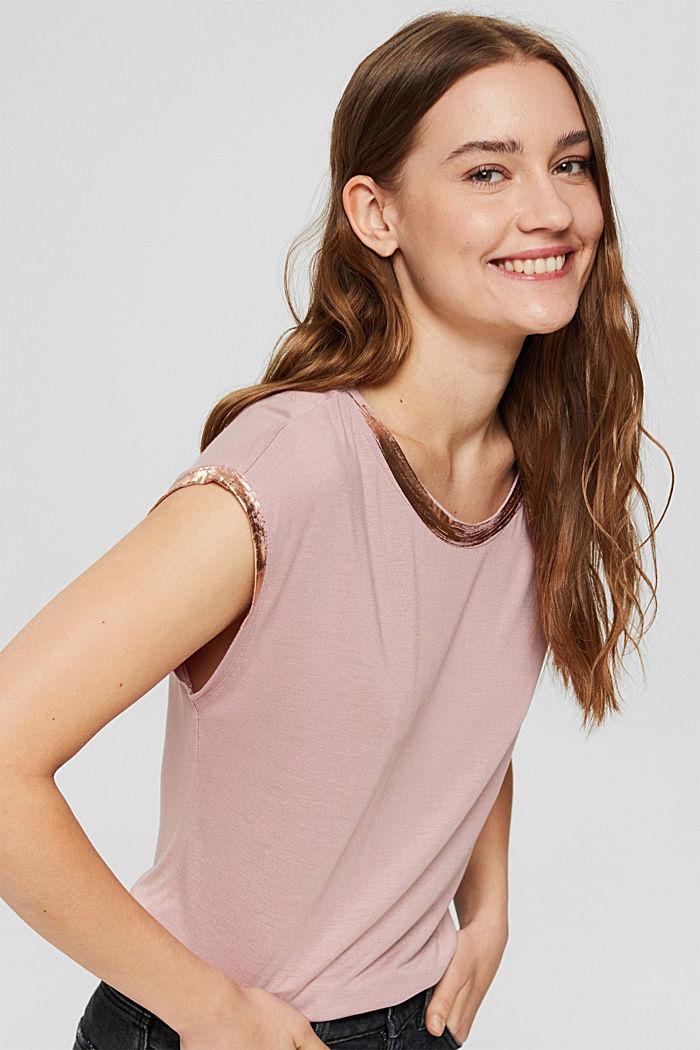 Fashion T-Shirt, OLD PINK, detail image number 5