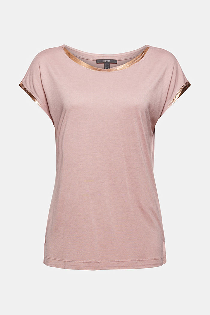 Fashion T-Shirt, OLD PINK, detail image number 7