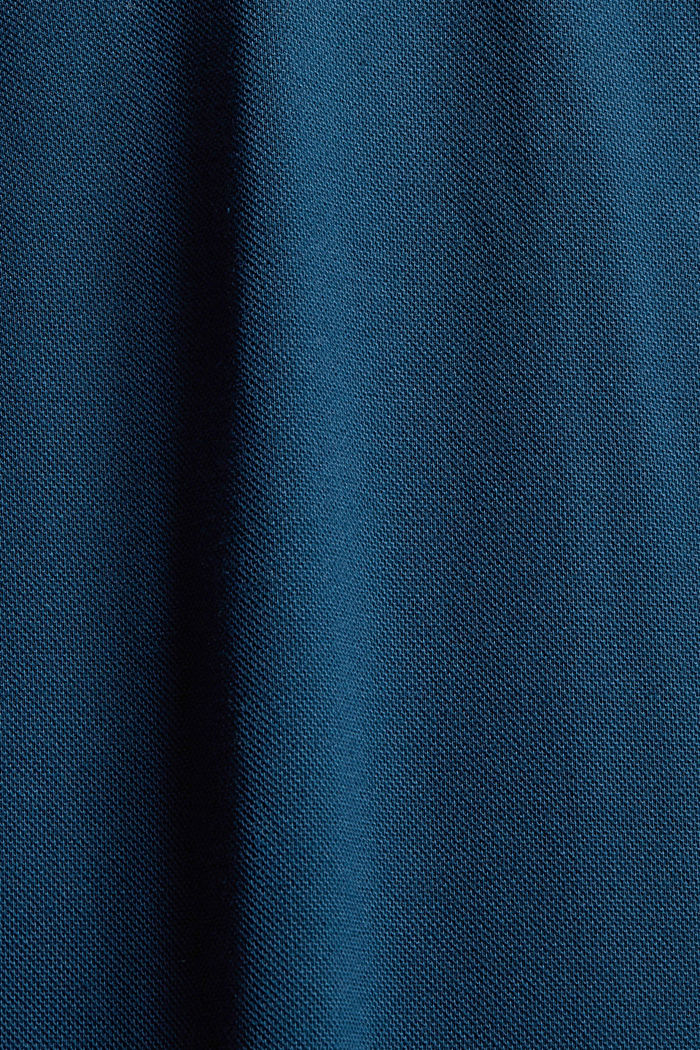 Shirts knitted Regular Fit, PETROL BLUE, detail image number 4