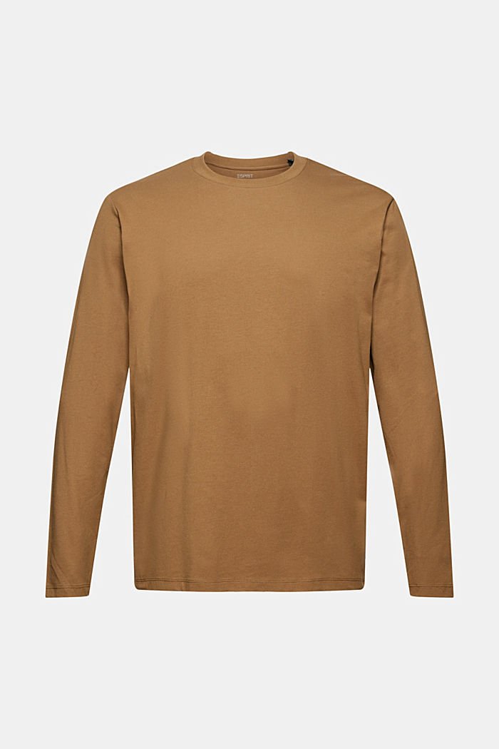 Jersey long sleeve top with COOLMAX®