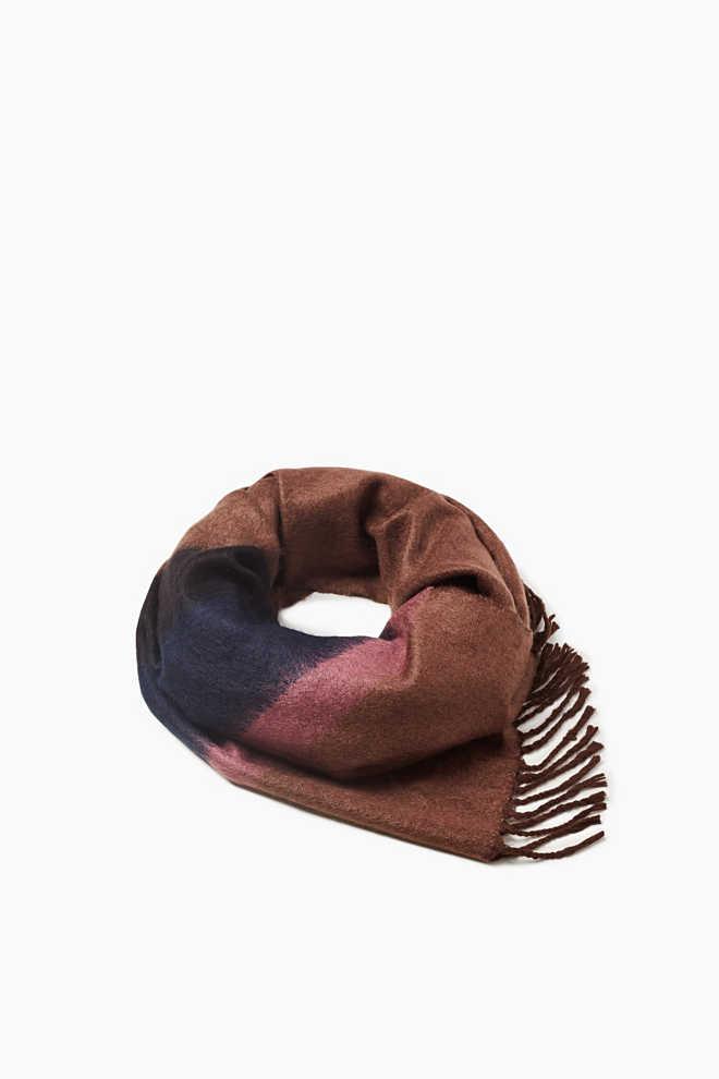 Softer Schal mit Blockstreifen