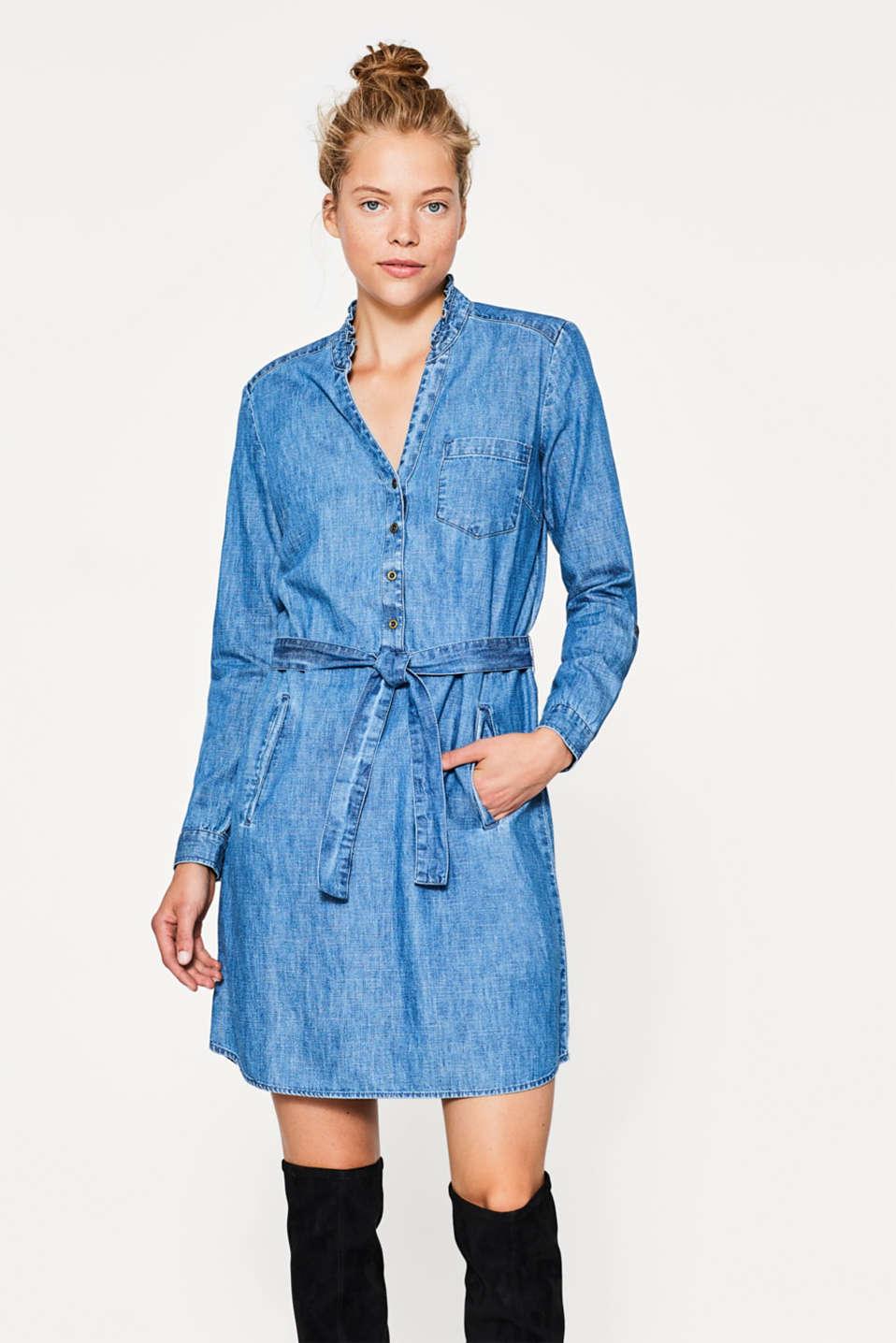 edc robe en jean 100 coton acheter sur la boutique en ligne. Black Bedroom Furniture Sets. Home Design Ideas