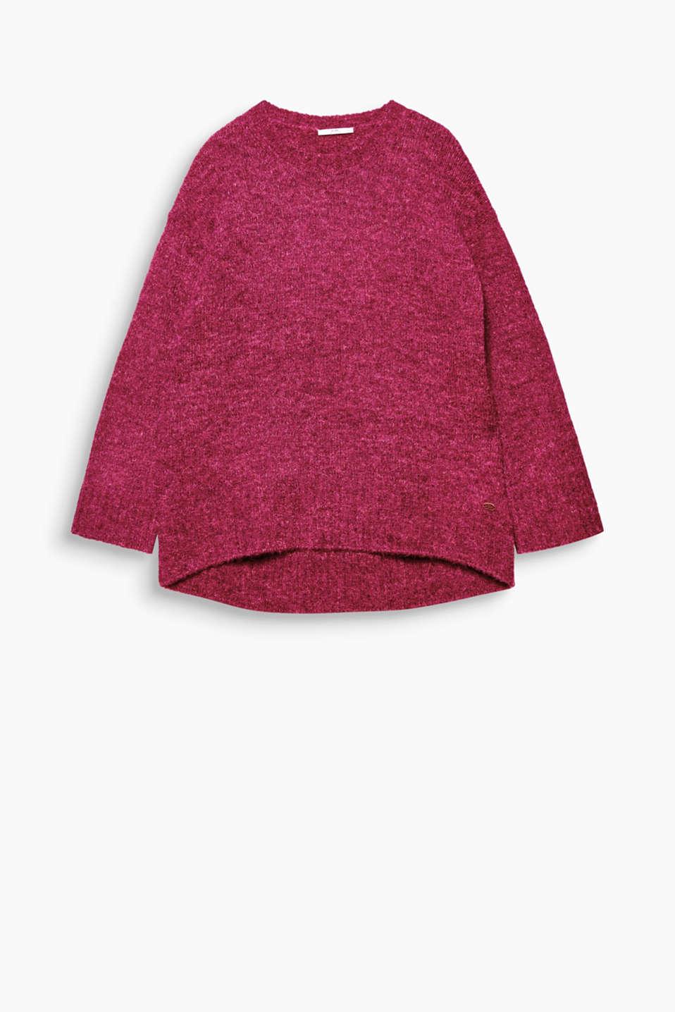Edc pull oversize laine et alpaga acheter sur la - Acheter laine xxl ...