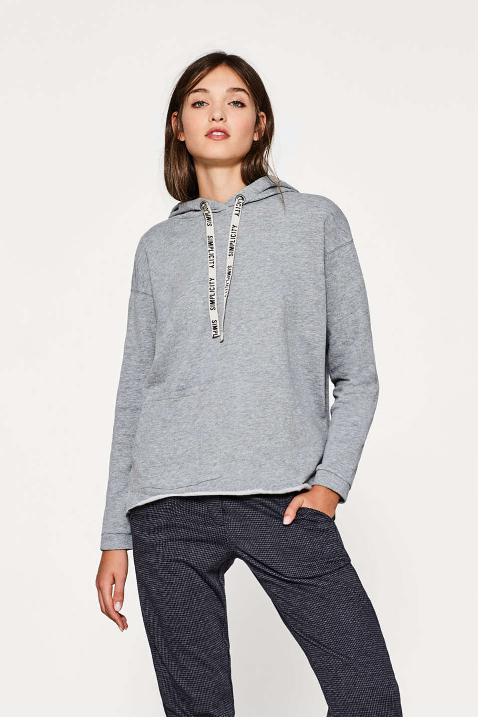 edc - Sweatshirt aus Organic Cotton-Mix