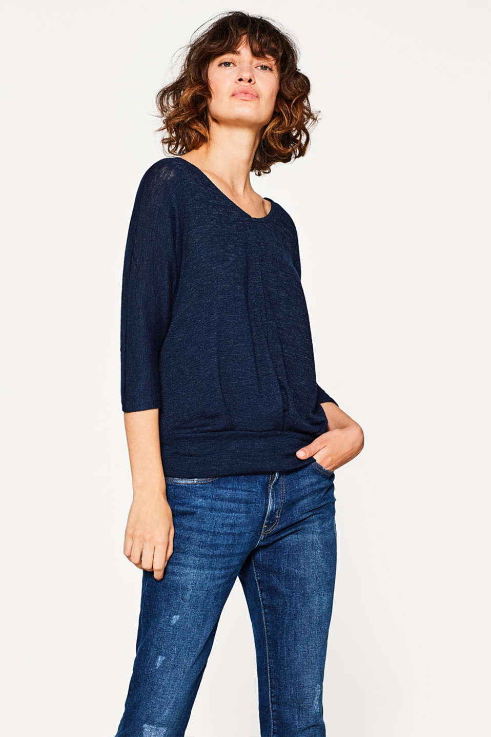 edc - Jumper with batwing sleeves