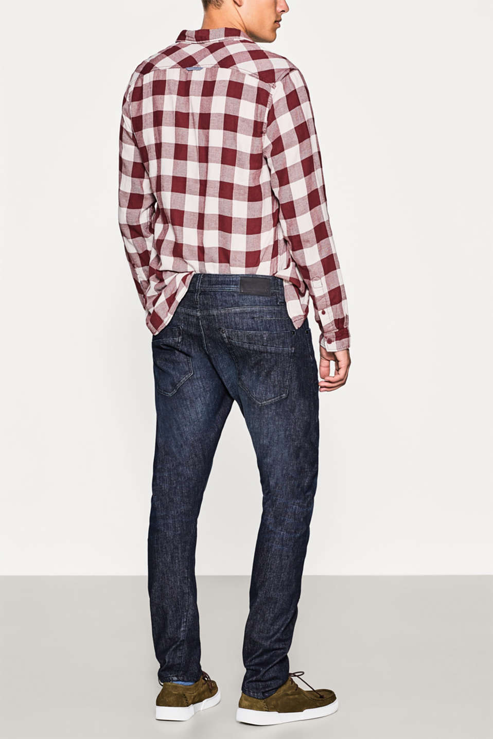Five-pocket jeans in organic cotton