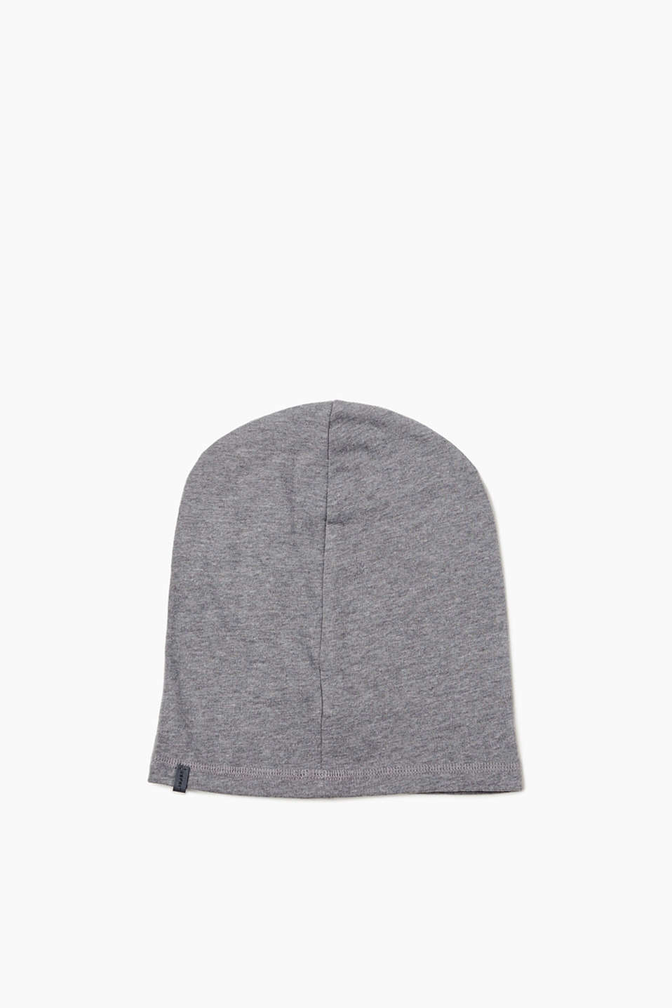 An urban basic! This soft jersey beanie will become a favourite for casual wear