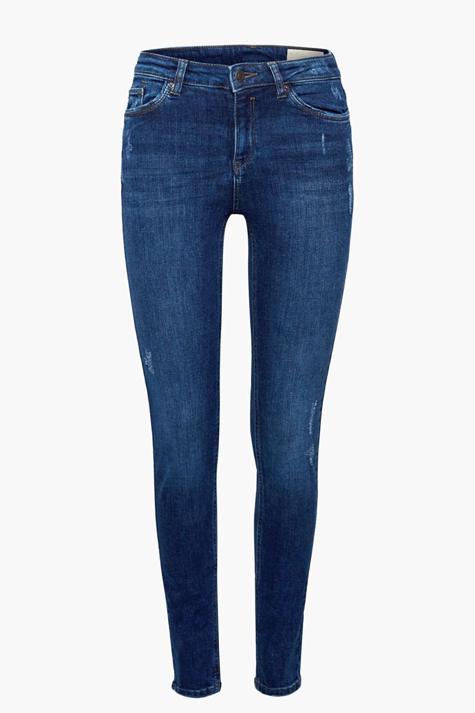 These stretch jeans in an attractively finished, high-quality organic cotton are stylish and great for every day!