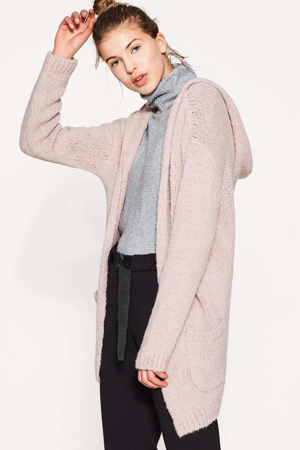 Esprit cardigan en grosse maille teneur en laine - Acheter laine xxl ...