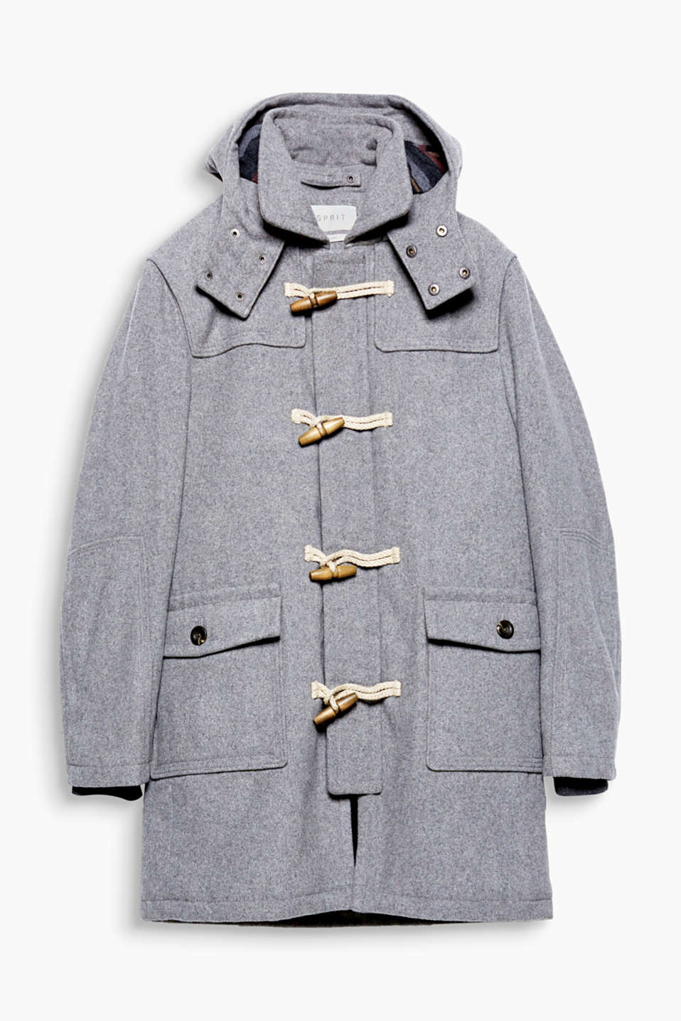 A classic! Go through the winter in sporty style thanks to this duffel coat.
