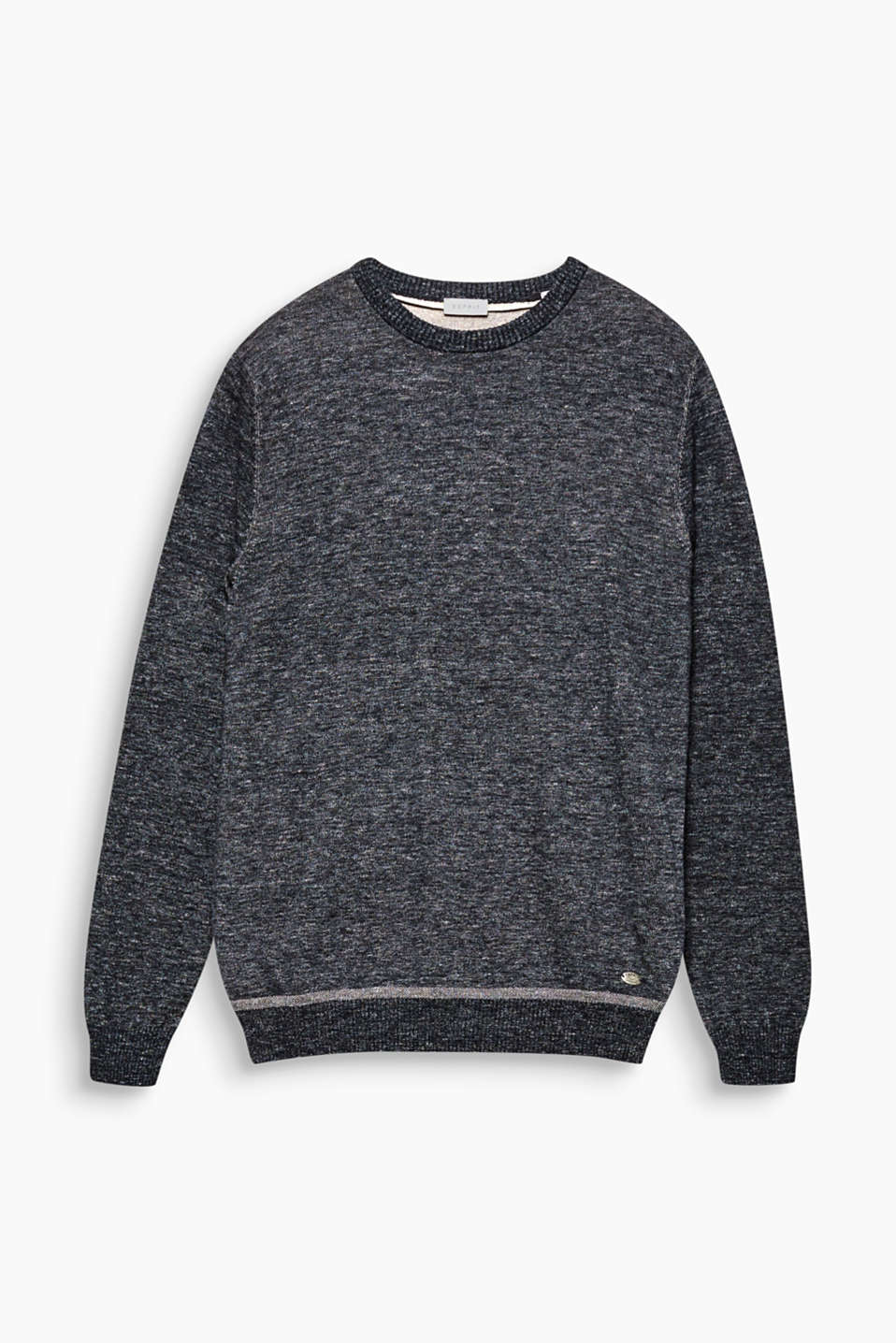 Your fashion essential for autumn: fine knit jumper in 100% cotton