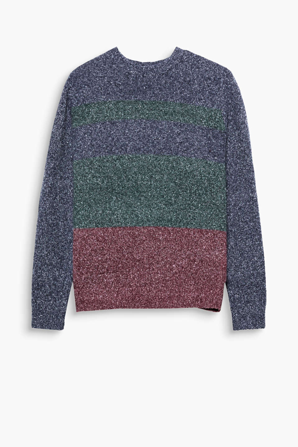 We love knitwear - especially with retro charm! This jumper impresses with its block stripes.