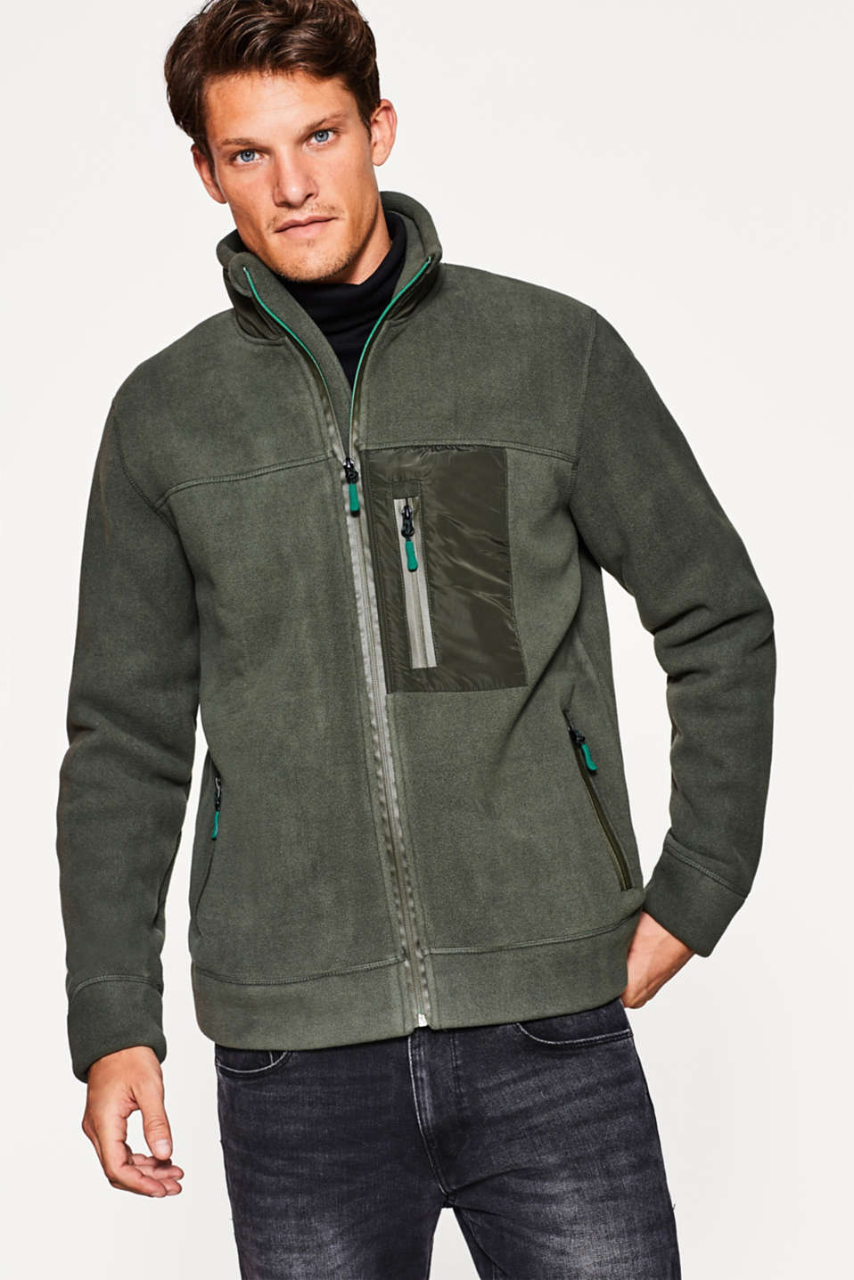 Esprit - Vest van warme fleece