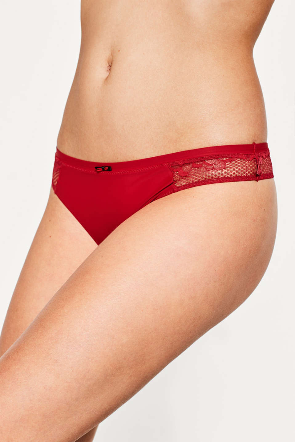 Esprit - Delicate lace hipster thong