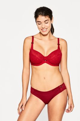 esprit unpadded underwire bikini top for big cups at our. Black Bedroom Furniture Sets. Home Design Ideas