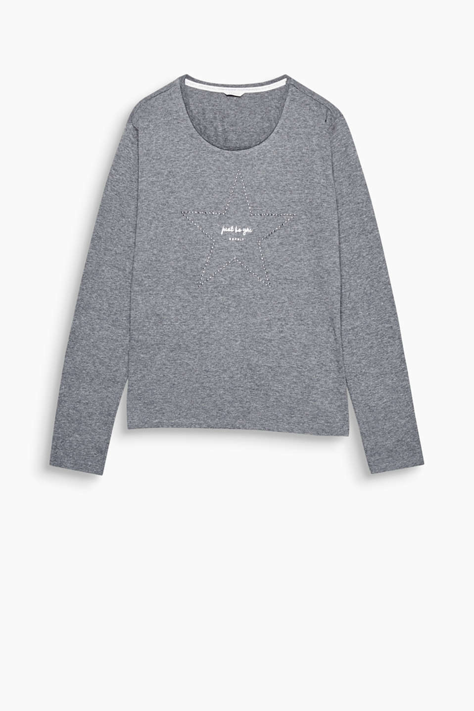 Your star! Feeling cosy and relaxed is the name of the game in this soft long sleeve top.